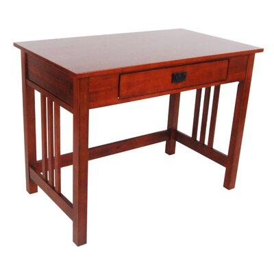 Craftsman style desks wayfair for Craftsman style desk plans