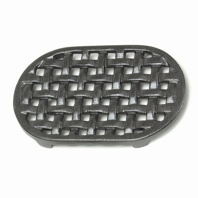 Minuteman International Cast Iron Oval Trivet