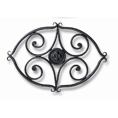 Minuteman International Scroll Wrought Iron Trivet