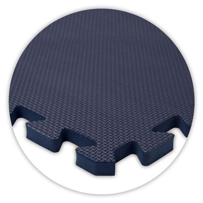 Alessco Inc. Premium SoftFloors Set in Navy Blue