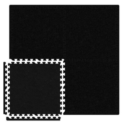 Alessco Inc. Economy SoftCarpets Set in Black