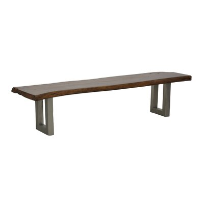Classic Home Layla Wood / Metal Kitchen Bench