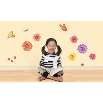Just for Kids Daisy Daze Wall Decal