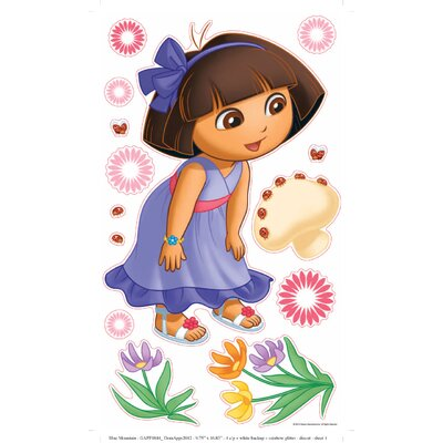 Blue Mountain Wallcoverings Nickelodeon Dora the Explorer Self Stick Rainbow Stars Appliqué
