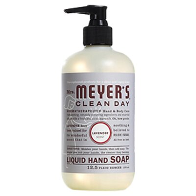 <strong>Mrs. Meyers</strong> Lavender Liquid Hand Soap