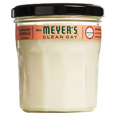 <strong>Mrs. Meyers</strong> Geranium Soy Candle