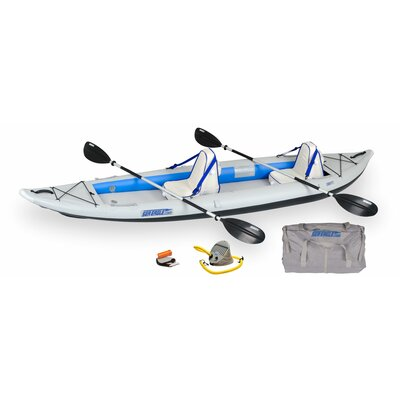 Sea Eagle Boats INC Deluxe Fast Track Kayak in Gray