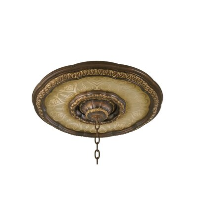 Illuminati Ceiling Medallion Base in Bronze