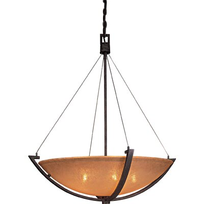 Minka Lavery Raiden 5 Light Foyer Inverted Pendant