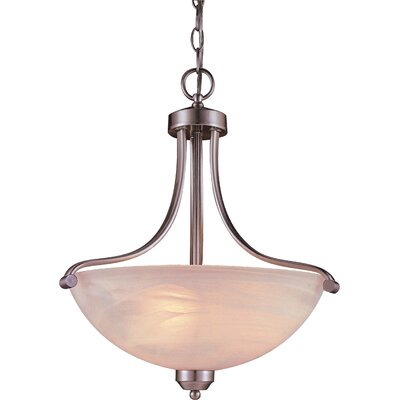 Minka Lavery Paradox 3 Light Inverted Pendant