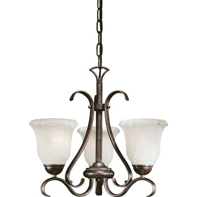 Marche 3 Light Mini Chandelier - Energy Star