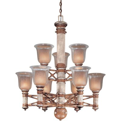 Minka Lavery Country Ranch 9 Light Chandelier