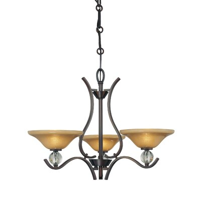 Minka Lavery Grahmton 3 Light Mini Chandelier
