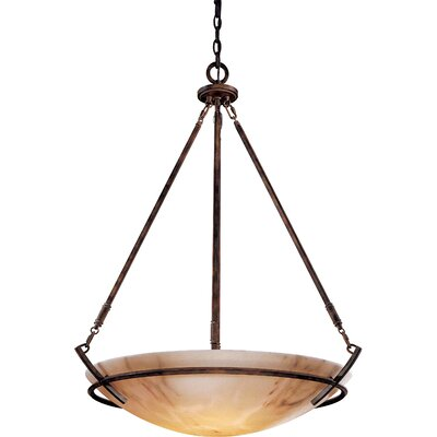 Calavera 5 Light Foyer Inverted Pendant