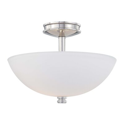 Minka Lavery Brookview 2 Light Semi-Flush Mount