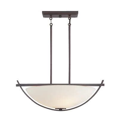 Galante 3 Light Bowl Pendant