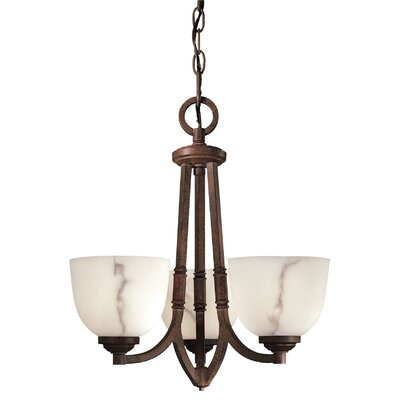 Calavera 3 Light Mini Chandelier