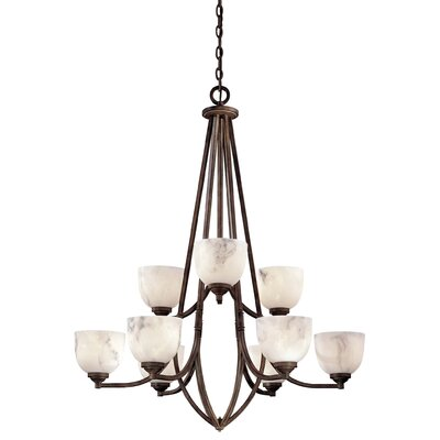 Minka Lavery Calavera 9 Light Chandelier