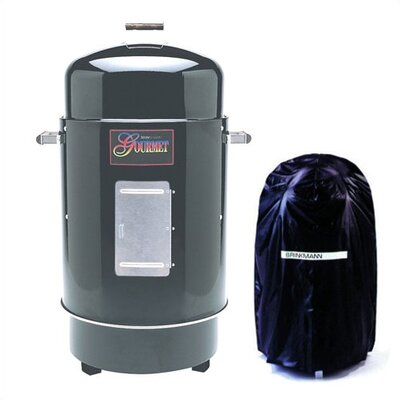 Gourmet Charcoal Smoker & Grill with Vinyl Cover
