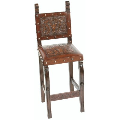 Colonial Spanish Heritage Counter Stool