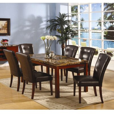 <strong>InRoom Designs</strong> 7 Piece Dining Set