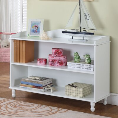 InRoom Designs Two Tier Bookcase in White