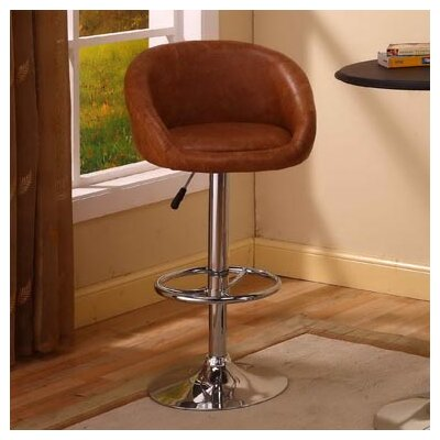 InRoom Designs Bar Stool with Back
