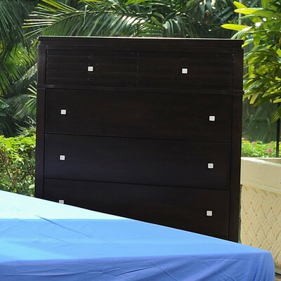 InRoom Designs Cabo 6 Drawer Chest