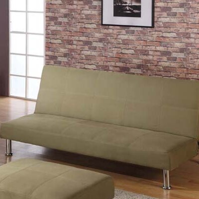 InRoom Designs Klik-Klak Canvas Sleeper Sofa