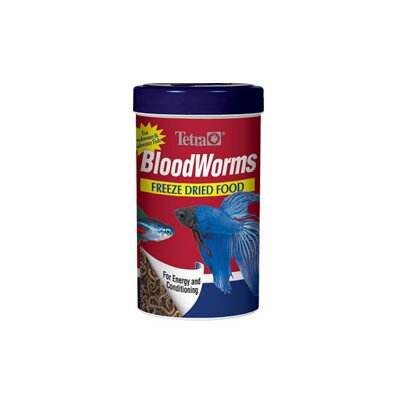 Blood Worms Fish Food