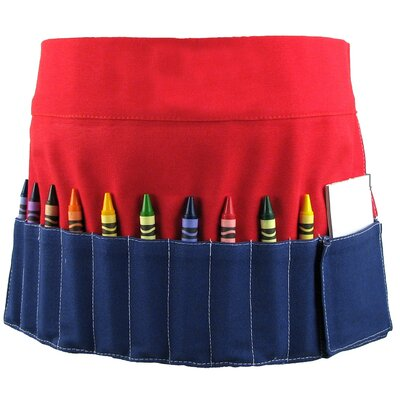 Princess Linens Doodlebugz Crayola Crayon Toolbelt in Red / Blue