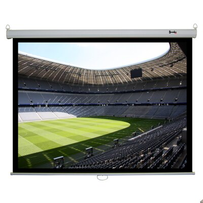 "Recordex 120"" Clarity Electric Screen 4:3 Matte in White"