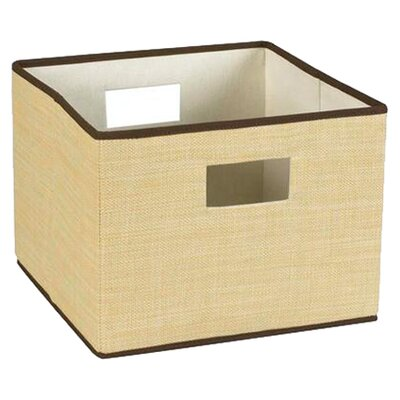 <strong>Household Essentials</strong> Resin Weave Storage Bin