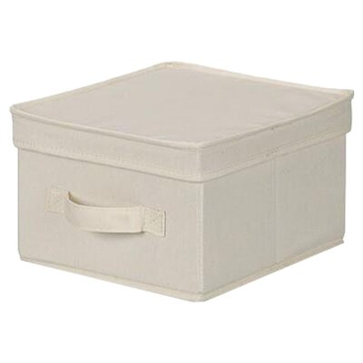 "<strong>Household Essentials</strong> Storage and Organization 6"" Medium Storage Box"
