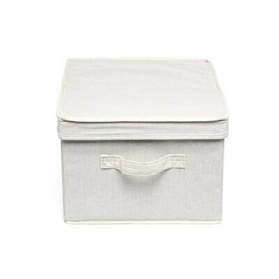 "Household Essentials Storage and Organization 8"" Large Storage Box"
