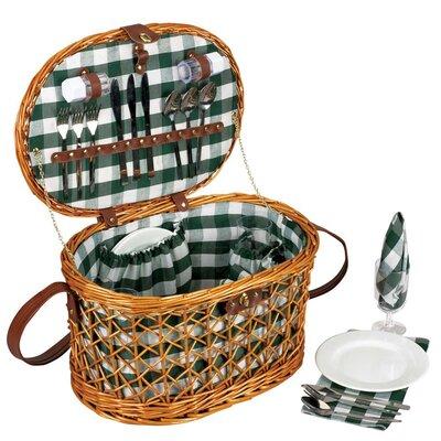 Willow Shoulder Strap Picnic Basket