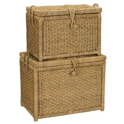Household Essentials Seagrass Chest