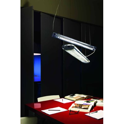 Oluce Line 54 W Suspension Lamp
