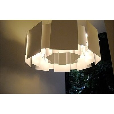 Oluce Coroa Double-Face Mirror Suspension Lamp