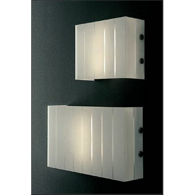 "Oluce Pin Stripe 2 Light 11.8"" Wall Lamp"
