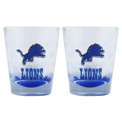Boelter NFL Shot Glass Cup (2 Pack)