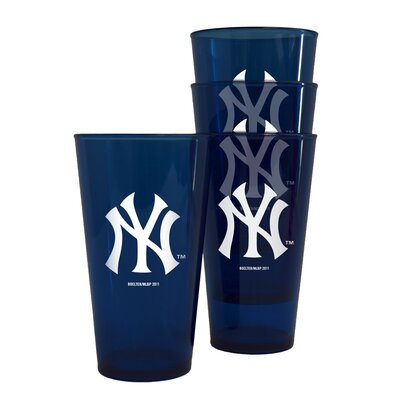 Boelter MLB Plastic Pint Cup (Set of 4)