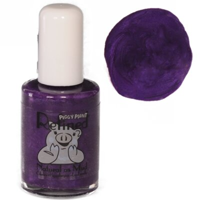 Midnight Pansy Nail Polish