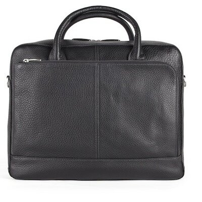Tribeca Slim Leather Laptop Briefcase