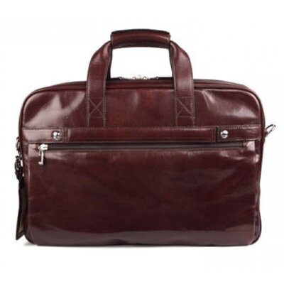Bosca Old Leather Stringer Laptop Briefcase