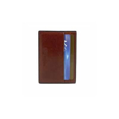 Bosca Old Leather Front Pocket Wallet with Leather Money Clip