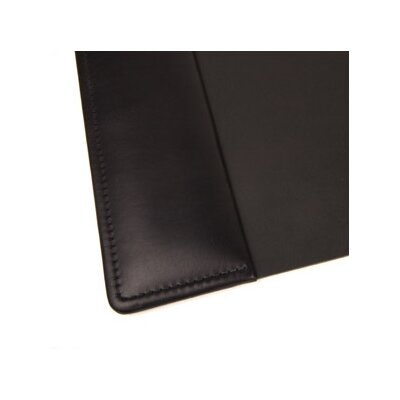 "Bosca Nappa Vitello 34"" x 20"" Desk Pad in Black"