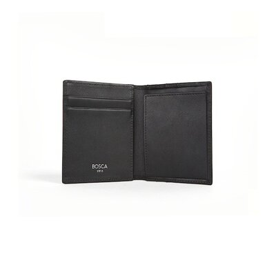 Bosca Nappa Vitello Front Pocket Wallet with Magnetic Clip