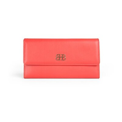 Bosca Nappa Vitello Checkbook Clutch