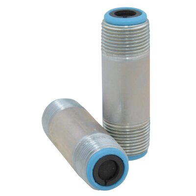 "Reliance 2.75"" X 3"" Silencer Heat Trap Nipples"